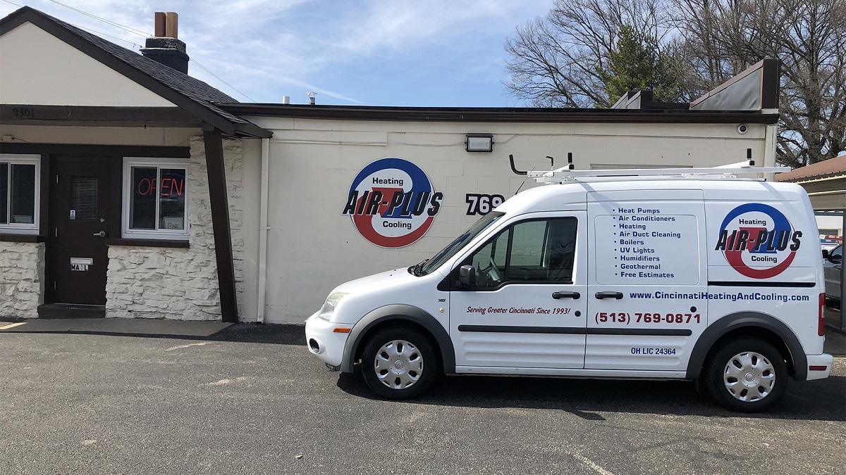 air plus cincinnati heating and cooling